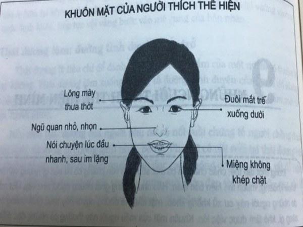 Tướng mặt phụ nữ xấu thích thể hiện