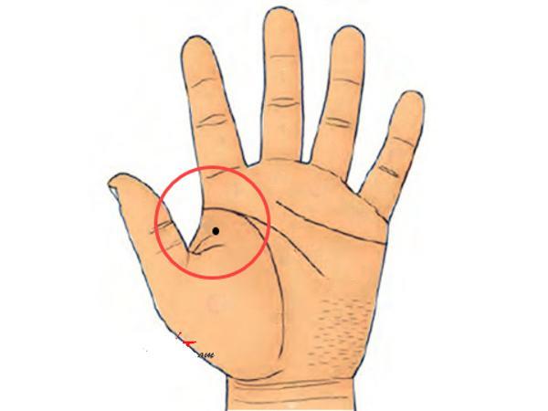 Xem bói nốt ruồi ở tay
