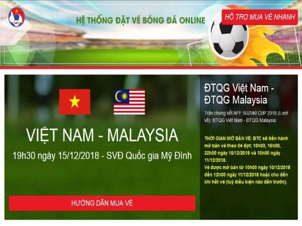 Cách mua vé bóng đá online cực kỳ đơn giản trên VinID